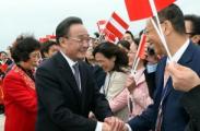 Начался визит в Беларусь китайской парламентской делегации