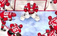 Белорусские хоккеисты дали бой команде США