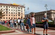 Как тысячи белорусов требовали регистрации своих кандидатов в президенты