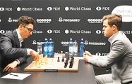 Матч за шахматную корону: Карлсен и Каруана в 12-й раз сыграли вничью