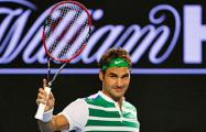 Федерер в двадцатый раз выиграл турнир Большого шлема