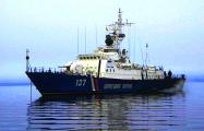 Видеофакт: Сторожевой корабль ФСБ РФ сел на мель