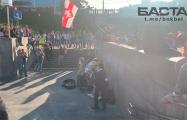 На Немиге музыканты виртуозно исполнили «Перемен» в начале Марша