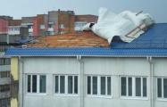 Сильный ветер повредил кровли 213 зданий в Минской области