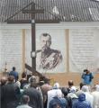 Белорусским паломникам в Пскове предложили «присоединиться» к Николаю II
