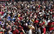 В Мьянме продолжаются протесты за демократию