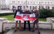 В Познани прошла акция против «интеграции» Беларуси с Россией