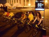 Во время «Часа Земли» некоторые минчане крутили педали (Фото)