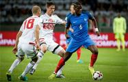 Беларусь-Франция. Первый тайм — 0:0
