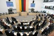 Сейм Литвы сегодня обсудит «плюшевую бомбардировку»