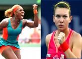 Серена Уильямс и Симона Халеп вышли в полуфинал турнира WTA