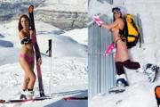 Ливанская горнолыжница оскандалилась на Олимпиаде из-за фотосессии