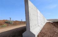 Турция отгородилась от Сирии стеной протяженность в 764 километра