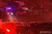 Полиция в Варшаве применила водометы против демонстрантов (Видео)