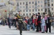 В гуляниях 9 мая в Минске приняло участие 750 тысяч человек
