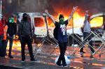 Протесты в Брюсселе переросли в беспорядки (Фото)