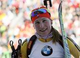 Домрачева финишировала третьей в масс-старте «Гонки чемпионов»
