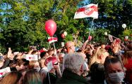 Пикет в Витебске 24 июля в фотографиях