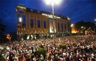 В Грузии возобновилась акция протеста