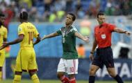 Мексика выиграла у Камеруна без двух незасчитанных голов