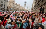 Как прошел марш пенсионеров в Минске
