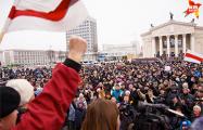 Рассерженные белорусы четко заявили: Лукашенко, на выход!