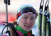 Домрачева заняла третье место в спринте на Кубке мира