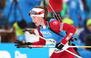 Дарья Домрачева выиграла этап Кубка Мира
