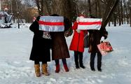 Минские пенсионеры провели акцию протеста