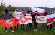 Жители Молодечно поддержали солигорских шахтеров