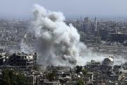 Посольство России в Дамаске снова обстреляли из минометов