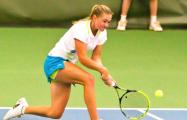 Белоруска Александра Саснович выиграла стартовый матч турнира во Франции