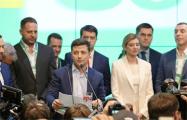Видеофакт: Как штаб Зеленского встретил результаты экзит-пола