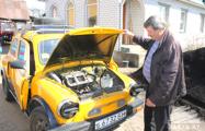 Как пенсионер из Барановичей восстанавливает ретро-автомобили