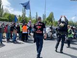 Путинских «Ночных волков» в Праге встретили протестами
