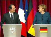 Олланд и Меркель готовы ввести санкции против секторов экономики России