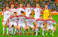 Сборная Беларуси выигрывает у Словакии 1:0