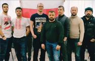 Бастующие работники «Нафтана» поддержали политзаключенных