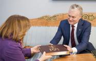 Президент Литвы встретился со Светланой Алексиевич