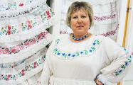 В белорусской деревне Бездеж собрали уникальную коллекцию фартушков