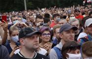 Полная видеоверсия митинга Светланы Тихановской в Минске