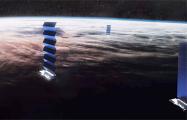 Над Беларусью начали летать спутники Илона Маска
