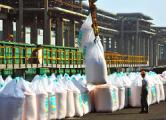«Беларуськалий» в марте экспортировал 977 тысяч тонн калия