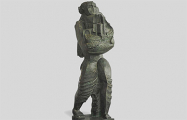 В Минск привезли скульптуру «Носитель даров» Осипа Цадкина