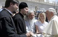 Священник Борисовской епархии встретился с Папой Римским