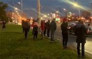 Минская Каменная Горка выстроилась в цепь солидарности