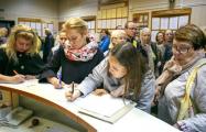 В Колодищах сто человек пришли на прием к чиновнику