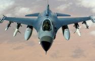 Датский истребитель F-16 упал в Северное море