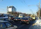 Минск в понедельник: «пробки» и полупустое метро