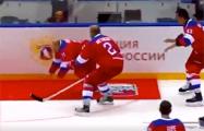 Путин упал